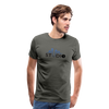 Men's S73 Color Logo T-Shirt - asphalt gray