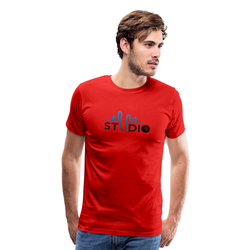 Men's S73 Color Logo T-Shirt - red
