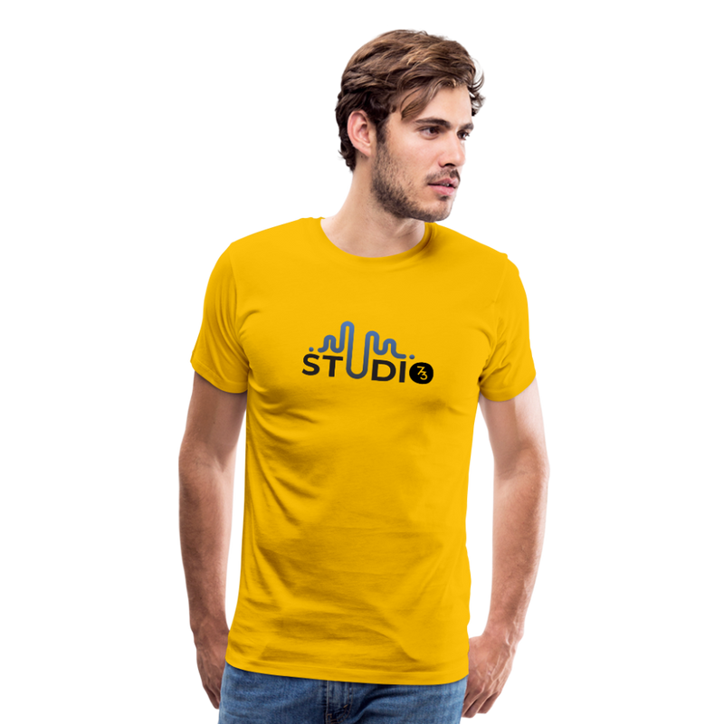 Men's S73 Color Logo T-Shirt - sun yellow