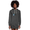 Final Fantasy VII Tribute Women's Hoodie Dress - heather black