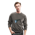 Final Fantasy VII Tribute Crewneck Sweatshirt - asphalt gray