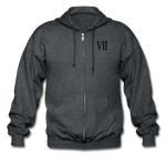 Final Fantasy VII Tribute Heavy Blend Zip Hoodie - deep heather