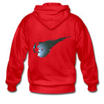 Final Fantasy VII Tribute Heavy Blend Zip Hoodie - red