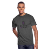 Brave The Gray Men's 50/50 Tee - heather black