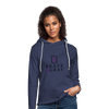 Brave The Gray Unisex Lightweight Terry Hoodie - heather navy