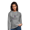Brave The Gray Unisex Lightweight Terry Hoodie - heather gray