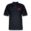 Men's Pique Polo Shirt - midnight navy
