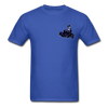 Pompadorable: Art by Ally Cat - Inque Double-Sided Tee - royal blue