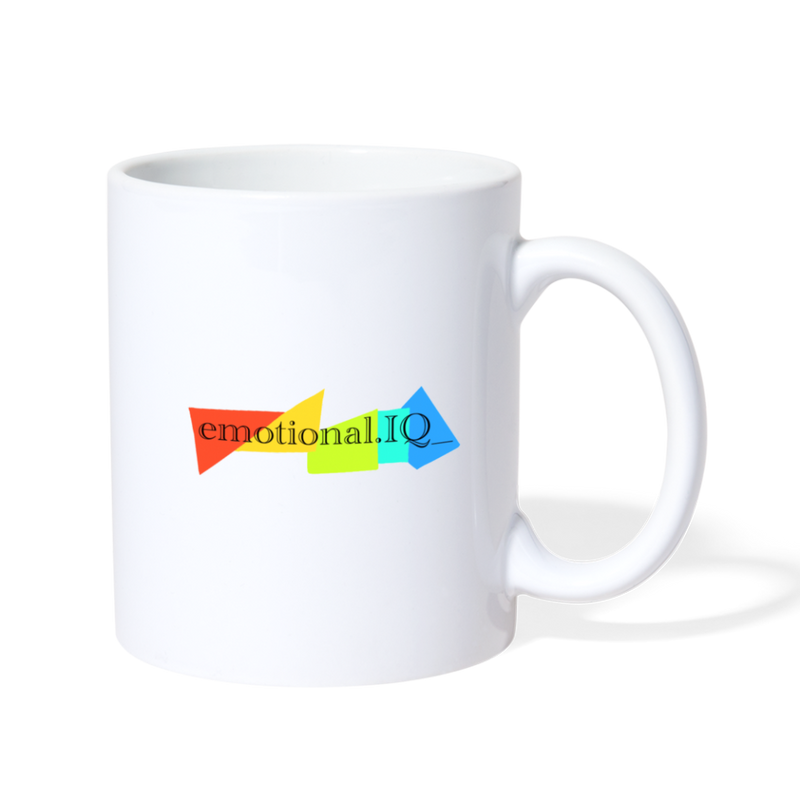 Emotional IQ Coffee/Tea Mug - white