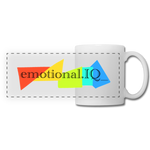 Emotional IQ Panoramic Mug - white