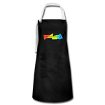 Emotional IQ Artisan Apron - black/white