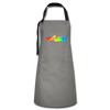 Emotional IQ Artisan Apron - gray/black