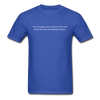 Judging Unisex Classic Tee - royal blue