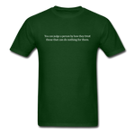 Judging Unisex Classic Tee - forest green