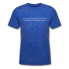 Judging Unisex Classic Tee - mineral royal