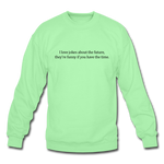 Future Jokes Crewneck Sweatshirt - lime