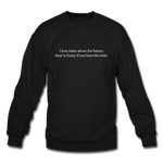 Future Jokes Crewneck Sweatshirt - black