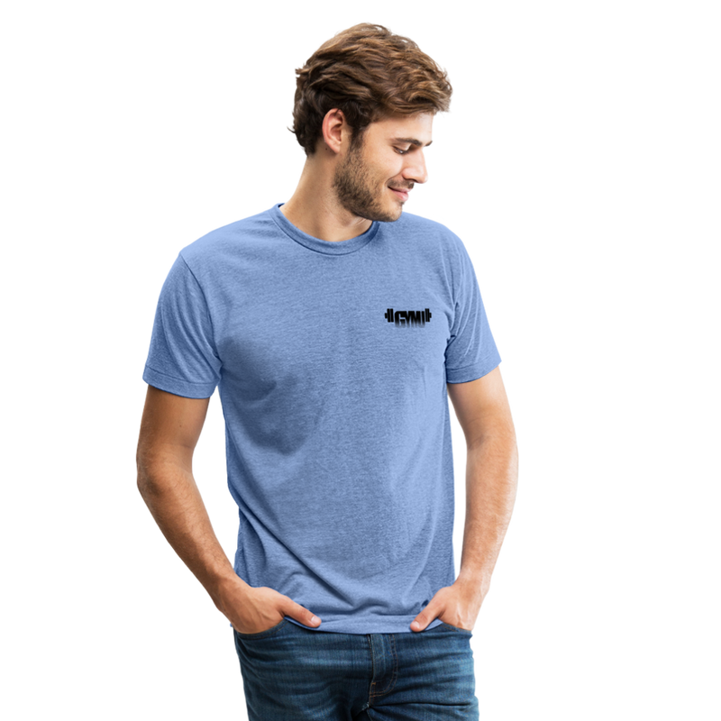 GYMU Unisex Tri-Blend T-Shirt - heather Blue