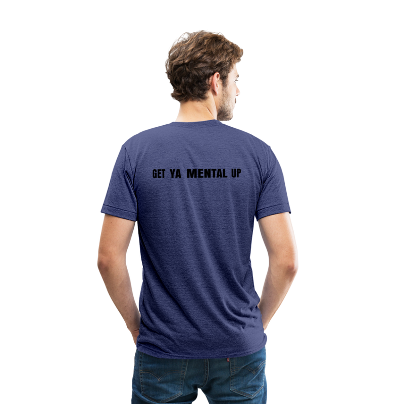 GYMU Unisex Tri-Blend T-Shirt - heather indigo