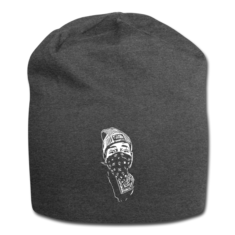Chef Flock Jersey Beanie - charcoal gray
