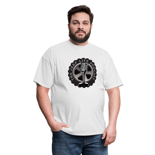 The Jeep Life Podcast Unisex Classic T-Shirt - white