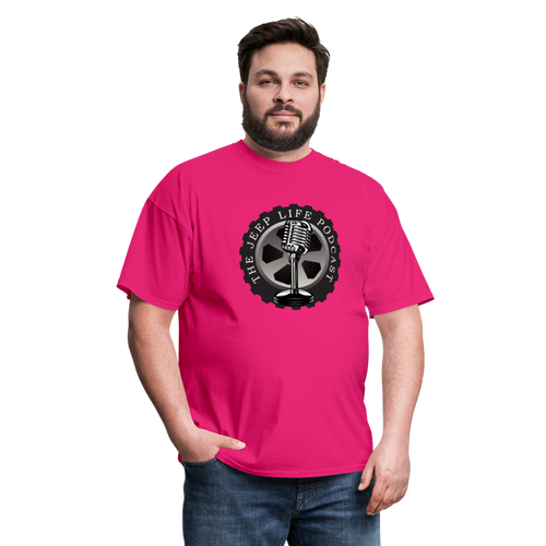 The Jeep Life Podcast Unisex Classic T-Shirt - fuchsia