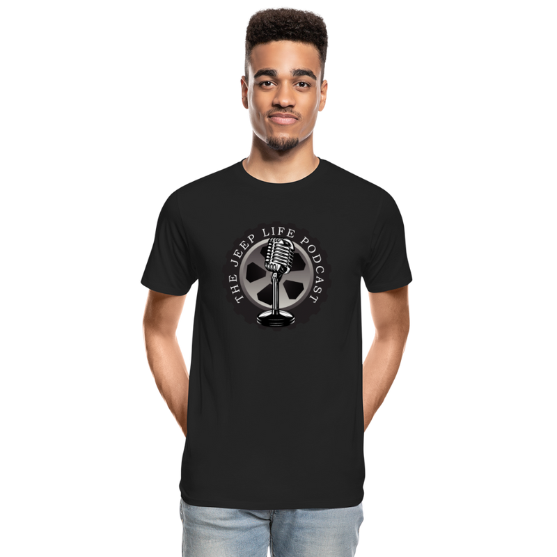 The Jeep Life Podcast Men's Premium Organic T-Shirt - black