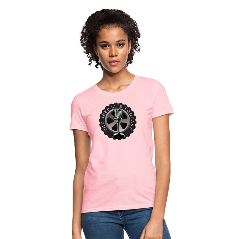The Jeep Life Podcast Women's T-Shirt - pink