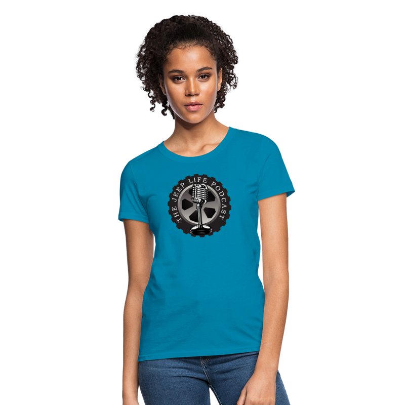 The Jeep Life Podcast Women's T-Shirt - turquoise