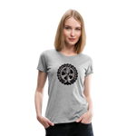 The Jeep Life Podcast Women's Premium T-Shirt - heather gray
