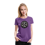 The Jeep Life Podcast Women's Premium T-Shirt - purple