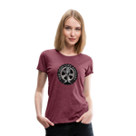 The Jeep Life Podcast Women's Premium T-Shirt - heather burgundy