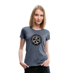 The Jeep Life Podcast Women's Premium T-Shirt - heather blue