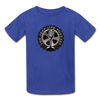 The Jeep Life Podcast Kids' T-Shirt - royal blue