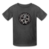 The Jeep Life Podcast Kids' T-Shirt - heather black
