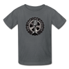 The Jeep Life Podcast Kids' T-Shirt - charcoal