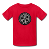 The Jeep Life Podcast Kids' T-Shirt - red