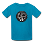 The Jeep Life Podcast Kids' T-Shirt - turquoise