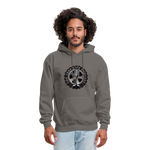 The Jeep Life Podcast Men's Hoodie - asphalt gray