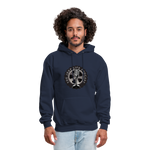 The Jeep Life Podcast Men's Hoodie - navy