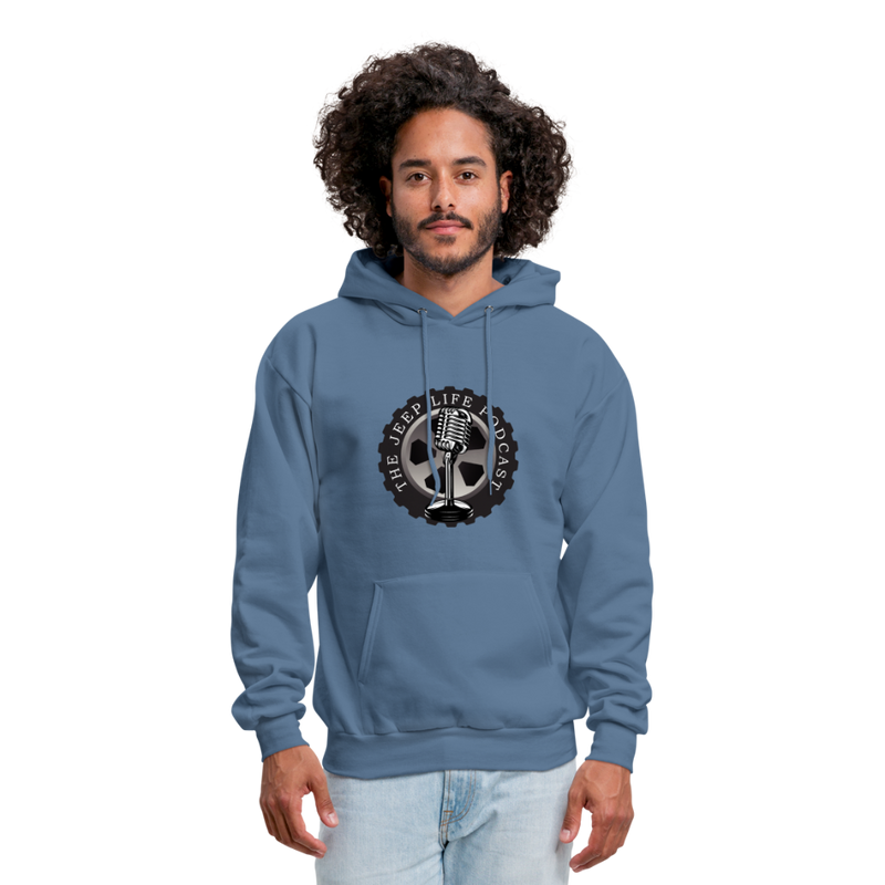 The Jeep Life Podcast Men's Hoodie - denim blue