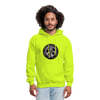 The Jeep Life Podcast Men's Hoodie - safety green