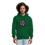 The Jeep Life Podcast Men's Hoodie - forest green