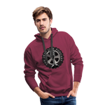 The Jeep Life Podcast Men's Premium Hoodie - burgundy