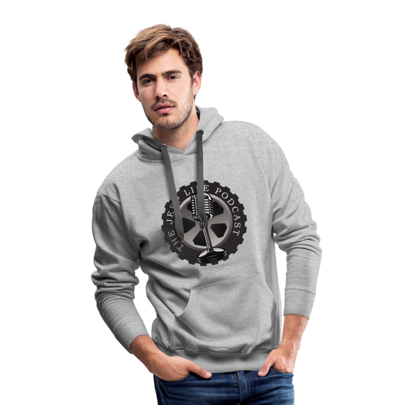 The Jeep Life Podcast Men's Premium Hoodie - heather gray