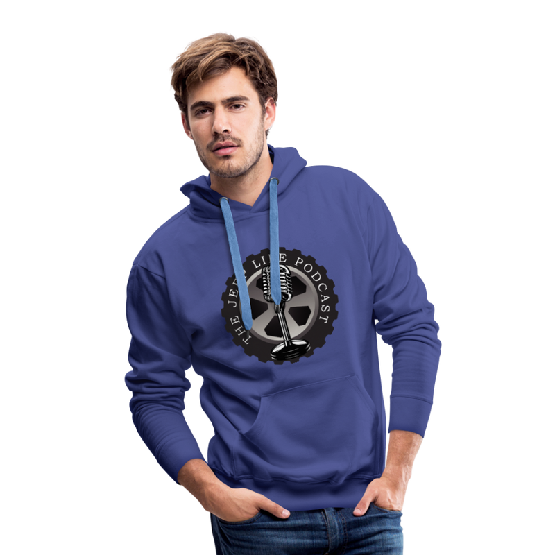 The Jeep Life Podcast Men's Premium Hoodie - royalblue