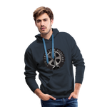 The Jeep Life Podcast Men's Premium Hoodie - navy