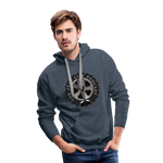 The Jeep Life Podcast Men's Premium Hoodie - heather denim