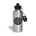 The Jeep Life Podcast Water Bottle - silver