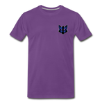 Wolfey's Premium T-Shirt - purple
